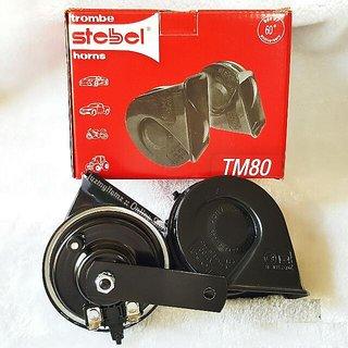 Stebel Trumpet TM80 electromagnetic 12v car and bike horn - Made in Italy