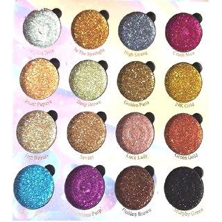 Gabbu Glitter Eye Shadow Pack of 1  (Multi Colour)