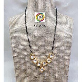 Craftlife Kundan Mangalsutra for Women