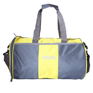 624159f043 Buy Navigator Yellow Grey Color Duffels Gym Bag For Men Online   ₹650 from  ShopClues