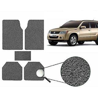 Autonity Anti Slip Noodle Car Floor Mats SET OF 5 Grey  For Maruti Grand Vitara