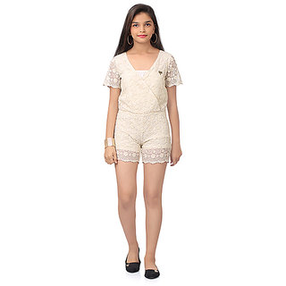Embroidered stylish Romper by SaraBela