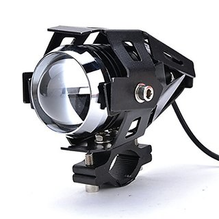 AutoSun U5 Three Mode High Beam 125W CREE U 5 LED Lamp Headlight Fog Light Spotlight for Motorcycle 1pc