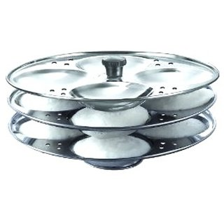 SMB Stainless Steel 3 Tier Idli Stand