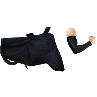 Combo of Bike Body cover with Arm Sleeves