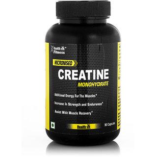 Healthvit Micronised Creatine Monohydrate- 90 Capsules