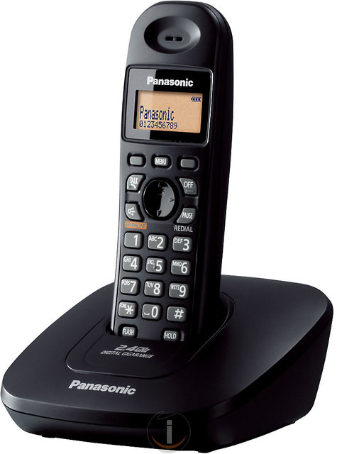 f3a4317fc6e Buy Panasonic KX-TG3611 Digital Cordless landline phone- Box Pack ...