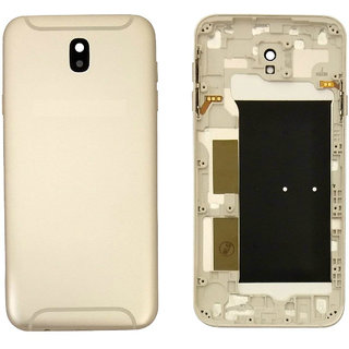 New Housing Body Panel for Samsung Galaxy J7 Pro with Camera Lens - Gold Color