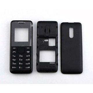 online store 758c0 631e2 Buy Full Body Housing Panel For Nokia 105 Black Online @ ₹249 from ...