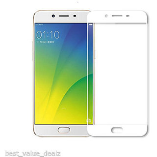 Hathot Oppo F3 Plus 0.3 Mm Flexible Tempered Glass( White)