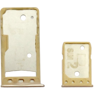 New Sim Tray Holder For Redmi 5A - Gold Color