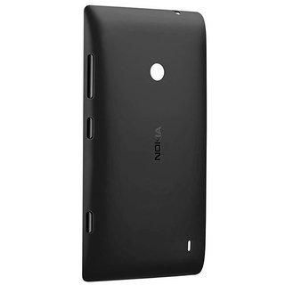 newest 571a6 8e4c9 Nokia Lumia 520 Battery Door Back Panel Cover (BLACK)