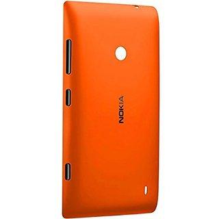 pretty nice d9795 03a88 Buy Nokia Lumia 520 Battery Door Back Panel Cover (ORANGE) Online ...