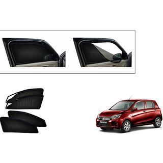 Generic Magnetic Zipper Curtain Car Sunshades Set Of 4-Maruti Suzuki Celerio