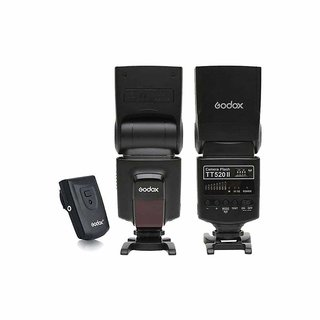 Godox Camera Flash TT520II with Build-in 433MHz Wireless Signal for Canon Nikon Pentax Olympus DSLR Cameras