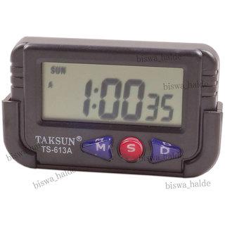 Buy Digital LCD TABLE Car Dashboard Alarm CLOCK LCD Stop
