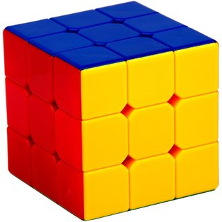 Nyubi  Stickerless Cube Magic Cube Speed Cube (3#,Multicolor)