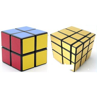 Rubiks Cube 2xMRSS Combo-Smooth, Lightsome, Excellent Quality,Competition Cube