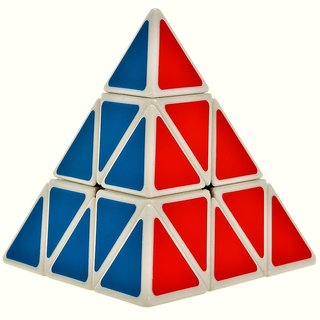 Fast And Smooth 3 Layer Pyramid Magic Speed Cube Puzzle Toys IQ Games