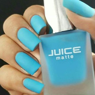 Juice Sky Blue Matte Nail Polish