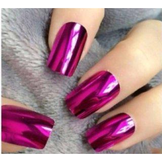 HB Glass Mirror Nail Paint - Magenta Color Shade