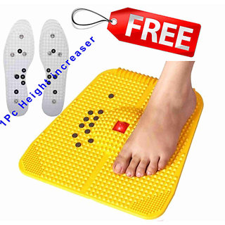 Acupressure Power Foot Mat 2000 best Quality plastic with free shoe shole