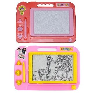 combo of Kids Drawing Writing Board Magic Slate, for kids
