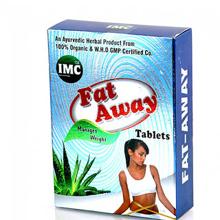IMC Fat Away (30 Ayurvedic Tablets) WHO Certified Chemical Free