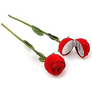 Guarantee Ornament Jewellery box for Ring Rose Design