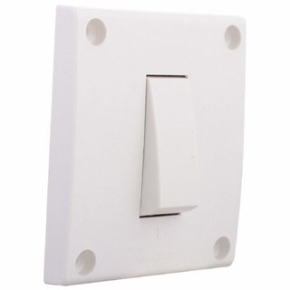 Anchor 38477 Penta Capton 1 -Way Switch WH, 20 Amp, White (Pack of 5)