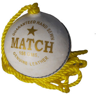 Port's Match Official Lather Cricket Practice Ball