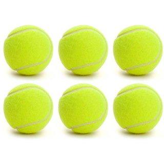 Tahiro Green Colour Cricket Balls - Pack Of 6