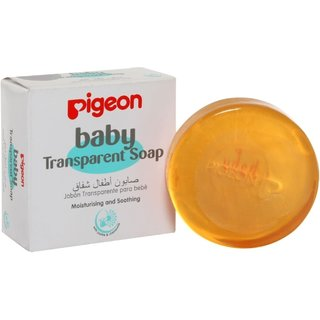 Imported Pigeon Baby Transparent Soap - 80GM (Made in Indonesia)