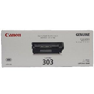 Canon Original 303 Black Toner Cartridge LBP 2900 , 3000