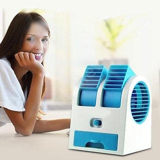 Trendz Mini USB Fragrance Air Cooling Fan, Portable Desktop Air Conditioner