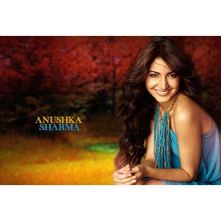 MYIMAGE Anushka Sharma Digital Printing Canvas Cloth Poster (Canvas Cloth Print, 12x18 inch)