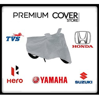 Universal TVS Zest Scooty Body Cover With Mirror Pockets - Custom Fit