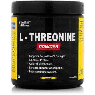 Healthvitt Fitness L-Treonine Powder 100GMS