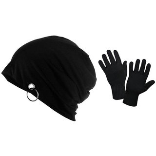 d28fc71f31b72 Buy Combo Of Beanie Cap And Woolen Gloves Online - Get 77% Off