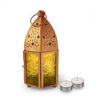 Decorative Vintage Metal Tealight Candle Holders Handing Lamp