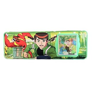 EREIN Multipurpose Pencil Box With Calculator With Dual Sharpener (Ben 10)