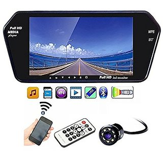 AutoStark 7 inch Car Video Monitor with USB, Bluetooth and Car Reaview Camera Datsun Go