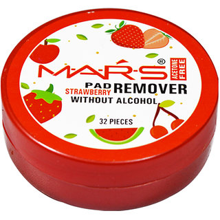 Mars Strawberry Nail Paint Remover