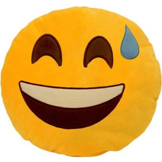 Teyja Collection velvet Smile cushion
