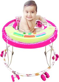 Oh Baby, Baby Pink color big musical walker for your kids JDF-CSA-SE-W-52
