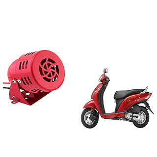 Kunjzone  Air Raid Siren Sound Bike  Horn For    Honda Activa i