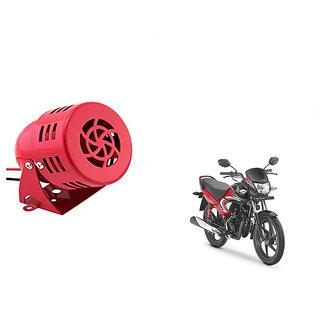 Kunjzone  Air Raid Siren Sound Bike  Horn For    Honda Dream Yuga