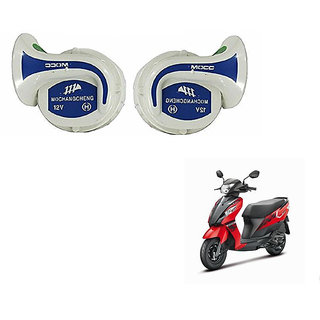 Kunjzone Mocc Bike 18 in 1 Digital Tone Magic Horn Set Of 2-- For  Suzuki Let's