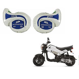 Kunjzone Mocc Bike 18 in 1 Digital Tone Magic Horn Set Of 2-- For  Honda Navi