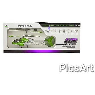 Velocity Easy Control I/R Remote Infrared Controlled 2.5 Channel Helicopter SE-ET-193